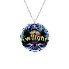 twilight new moon forest Necklace