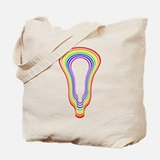 Lacrosse Hypnotize Rainbow Tote Bag