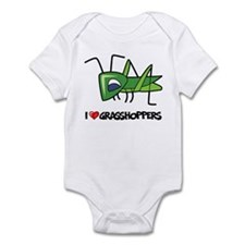 I Love Grasshoppers Infant Bodysuit