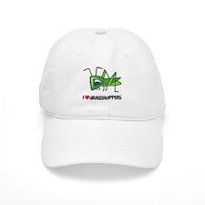 I Love Grasshoppers Baseball Cap