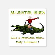 """ALLIGATORRIDES Square Sticker 3"""" x 3"""""""