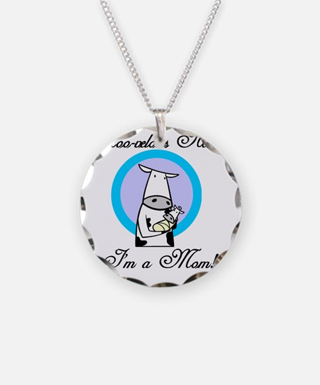 2-mommycowsshirt Necklace