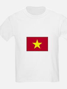 Vietnam Flag Kids T-Shirt