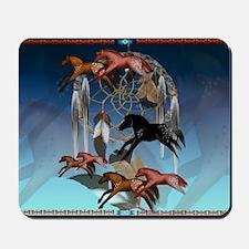 Dream Horses-Yardsign Mousepad