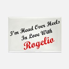 In Love with Rogelio Rectangle Magnet
