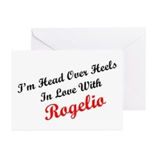 In Love with Rogelio Greeting Cards (Pk of 10)