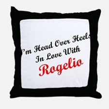 In Love with Rogelio Throw Pillow