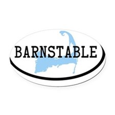 barnstable Oval Car Magnet