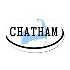 chatham Oval Car Magnet