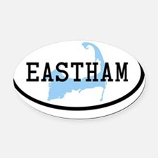eastham Oval Car Magnet