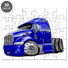 Peterbilt 587 Blue Truck Puzzle