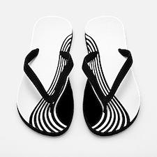 Lacrosse Hypnotize White Flip Flops