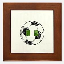 nigeria soccerballGRN Framed Tile