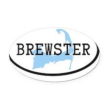 brewster Oval Car Magnet