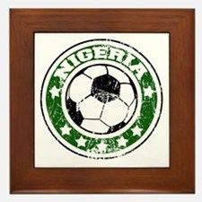 nigeriad Framed Tile