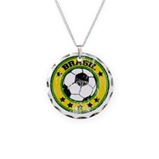 soccerbrasilroundd Necklace