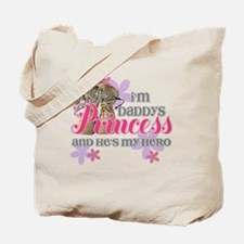 Daddys Princess Tote Bag