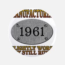 """1961 3.5"""" Button"""