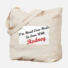In Love with Rodney Tote Bag