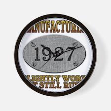 1927 Wall Clock