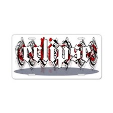 3-ECLIPSEMUG Aluminum License Plate
