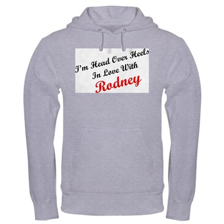 In Love with Rodney Hooded Sweatshirt