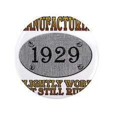 """1929 3.5"""" Button"""