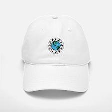Disc Golfing Planet Earth Baseball Baseball Baseball Cap
