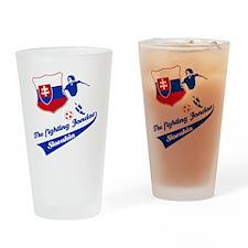 slovakian_soccer Drinking Glass