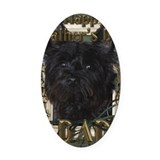 Dogs cairn terrier Car Magnets
