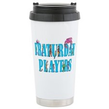 frat play tee big Travel Mug