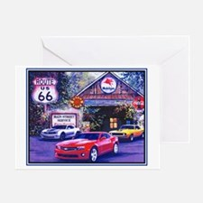 Camaro Garage Greeting Card