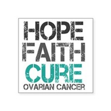 "ovariancancer1 Square Sticker 3"" x 3"""