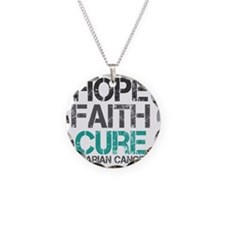 ovariancancer1 Necklace Circle Charm
