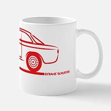 Alfa GTV GTA_Red Mug