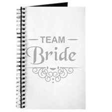Team Bride in silver Journal