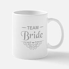 Team Bride in silver Mugs