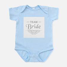 Team Bride in silver Body Suit
