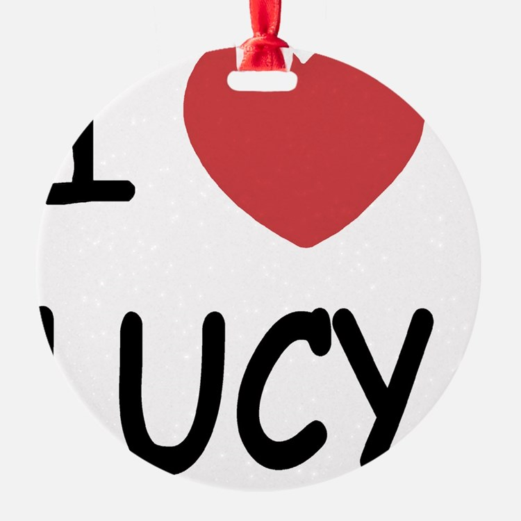 LUCY01 Ornament
