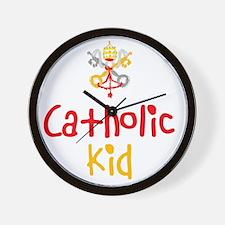 CatholicKid_Both Wall Clock
