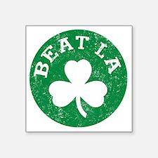 """Beat LA -dk Square Sticker 3"""" x 3"""""""