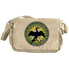 Id Like my life back green yell lite Messenger Bag