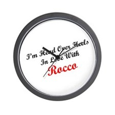 In Love with Rocco Wall Clock