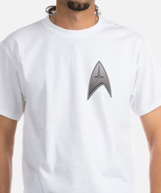 STAR TREK Silver Metallic Insignia Shirt