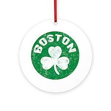 Boston Round Ornament
