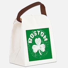 Boston Btn Canvas Lunch Bag