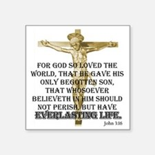 "2-everlasting-life Square Sticker 3"" x 3"""