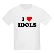 I Love IDOLS Kids T-Shirt