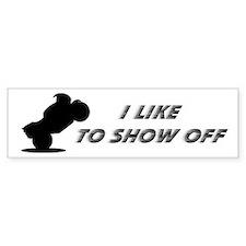 Show Off Bumper Bumper Sticker