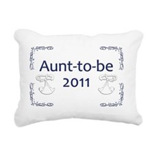 Yard_Aunt-to-be11 Rectangular Canvas Pillow